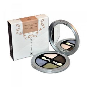 Компактные тени для век 4 цвета