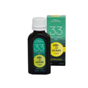Эфирное масло «33 Травы» Strong 50 мл.
