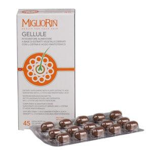 Капсулы для волос и ногтей «Migliorin»
